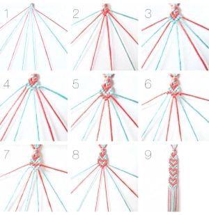 фенечки з ниток схеми