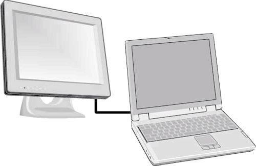 Як підключити ноутбук до телевізора для доступу в інтернет