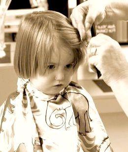 як підстригати малюків