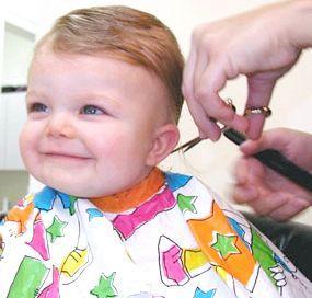 підстригти малюка фото