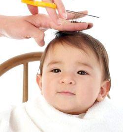 як підстригти дитину вдома