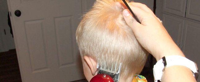 як дитину підстригти машинкою