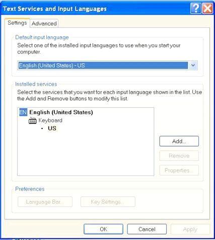 як на клавіатурі поміняти мову