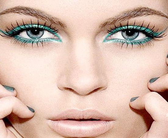як нанести макіяж на очі