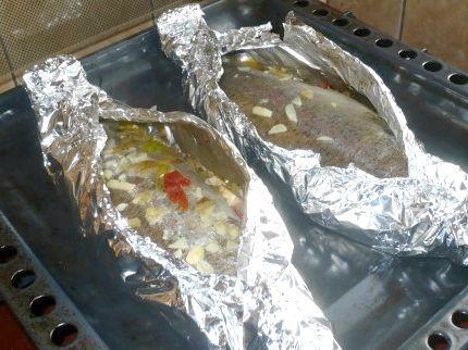 як приготувати рибу в духовці