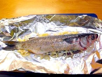 риба запечена в духовці