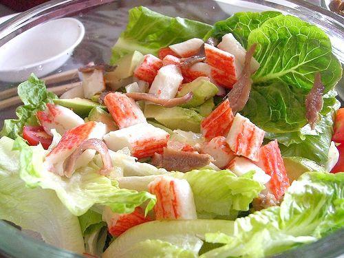 салат крабовий ніжність