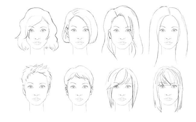 як малювати волосся