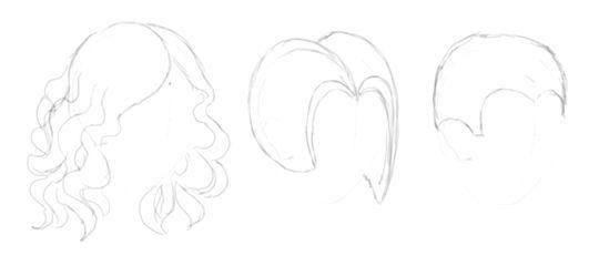як правильно малювати волосся олівцем