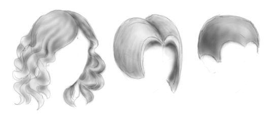 як навчитися малювати волосся