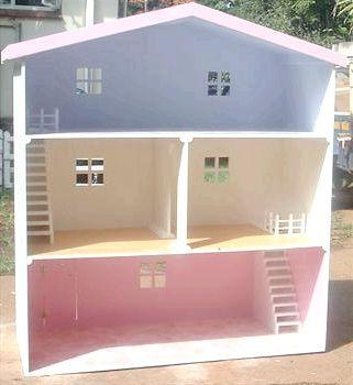 будиночок своїми руками з картону