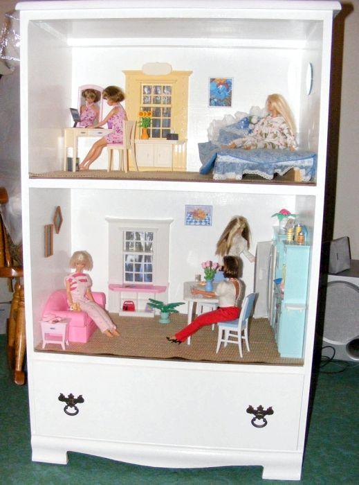 як робити будинок для ляльок