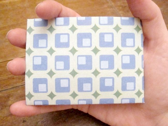 Як зробити з паперу гаманець
