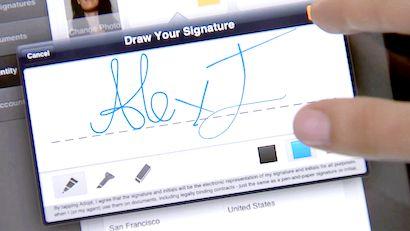 як зробити електронний підпис