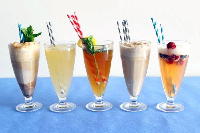 коктейль з морозива і соку