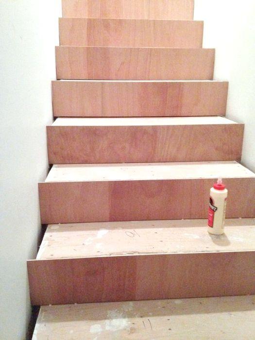 як зробити дерев'яні сходи