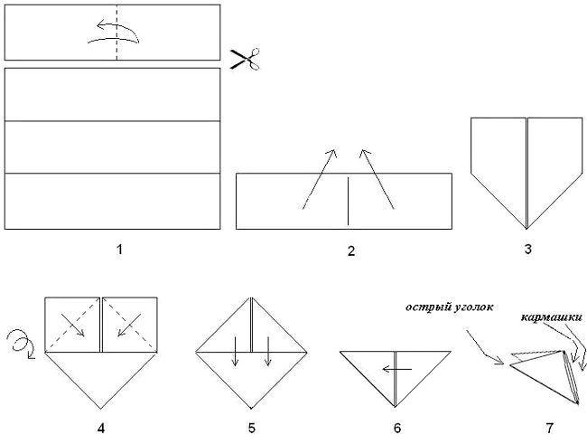 як зробити модуль для орігамі