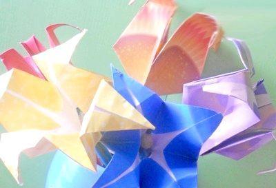 Як зробити оригінальний тюльпан орігамі?