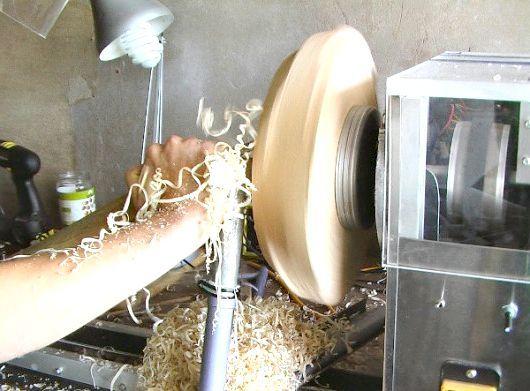 саморобний токарний верстат з чпу