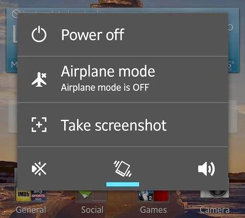 як на андроїд робити скріншот