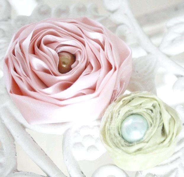 як зробити квіти з тканини