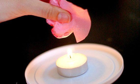 інструменти для квітів з тканини