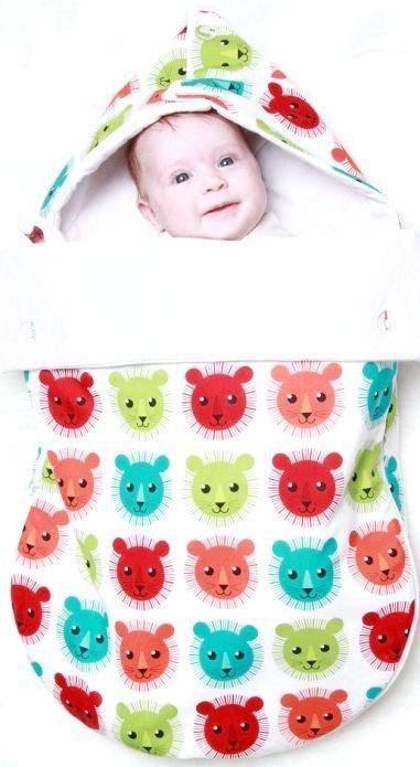 конверт для новонародженого своїми руками
