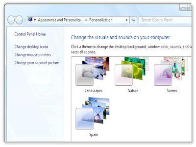 Як встановити тему для windows 7 звичайному користувачеві?