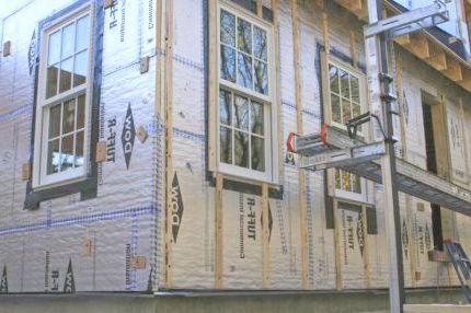 як утеплити дерев'яний будинок зовні