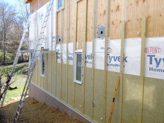 технологія утеплення дерев'яного будинку зовні