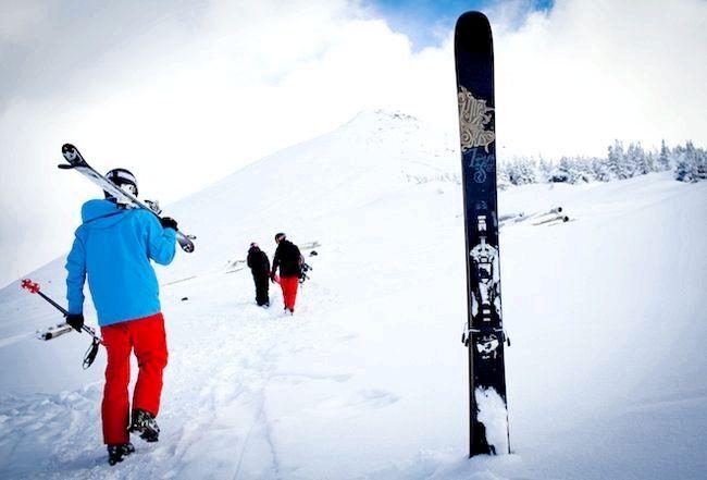 як вибрати дитині гірські лижі