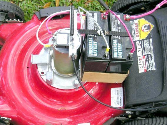 газонокосарки електричні makita