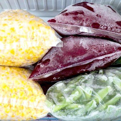 Заморожені овочі рецепти