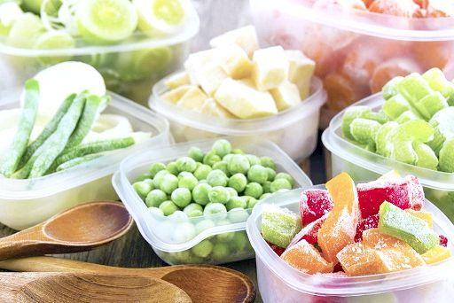 Як заморозити овочі