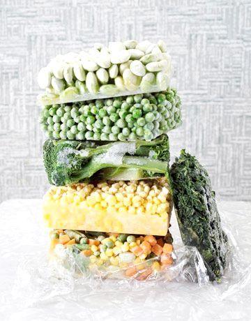 Замороження овочів і фруктів
