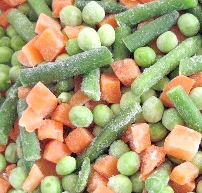 Замороження овочів в домашніх умовах