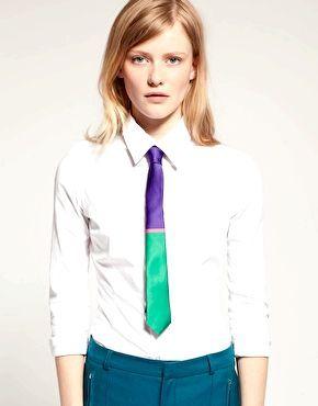 Як правильно зав'язувати жіночий галстук
