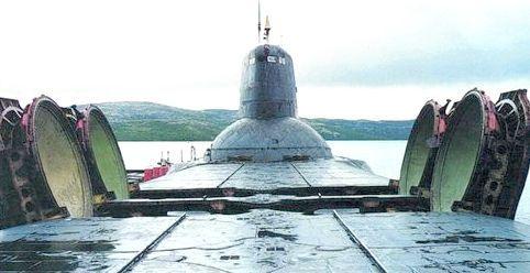 найбільша атомний підводний човен