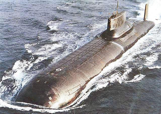 найбільші підводні човни росії