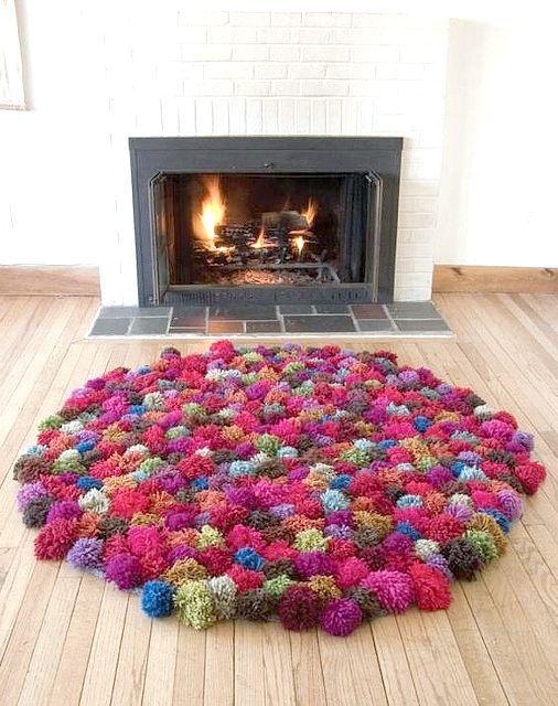 Які можна зробити килими своїми руками