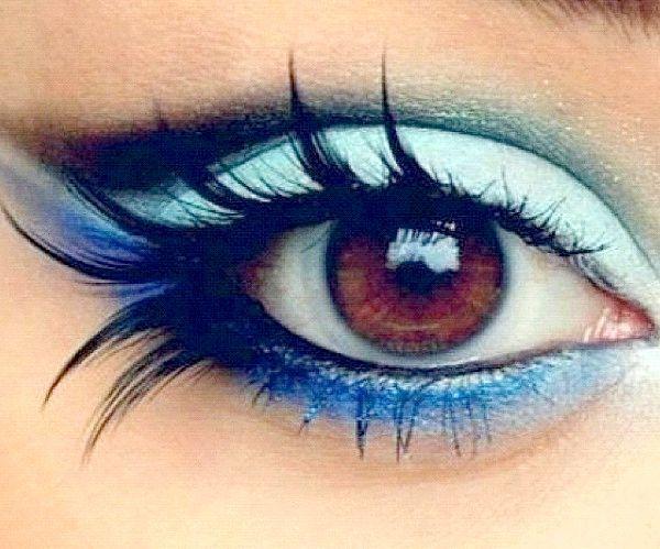 які тіні для карих очей