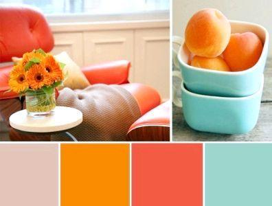 який колір поєднується з помаранчевим