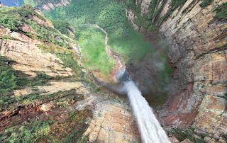Який найвищий водоспад у світі?