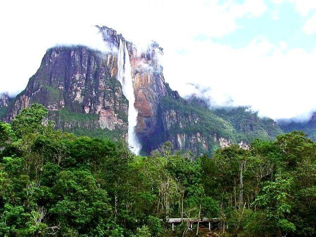 Найвищий водоспад на землі