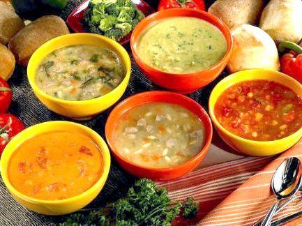 Калорійність супів
