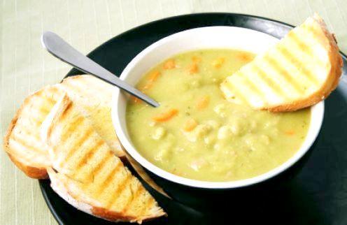 Гороховий суп калорійність