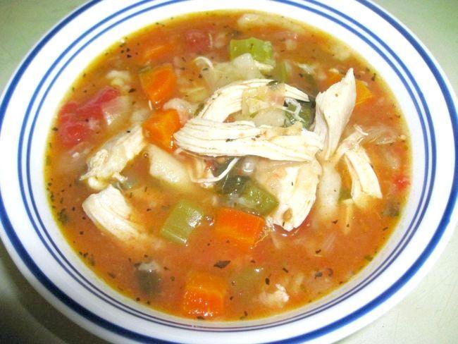 Суп курячий калорійність
