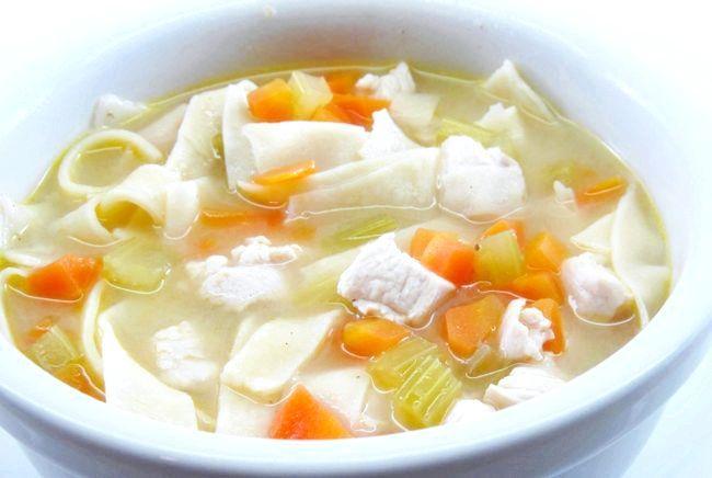 Суп з вермішеллю калорійність