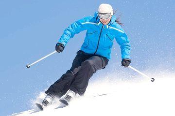 уроки катання на лижах