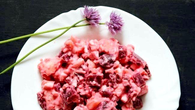 калорійність вінегрету з квашеною капустою